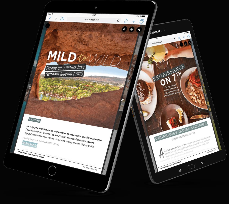 Mild to Wild Digital Magazine Created in PageRaft