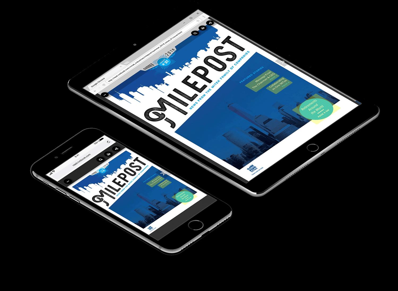 Milepost Digital Magazine Created in nxtbook4