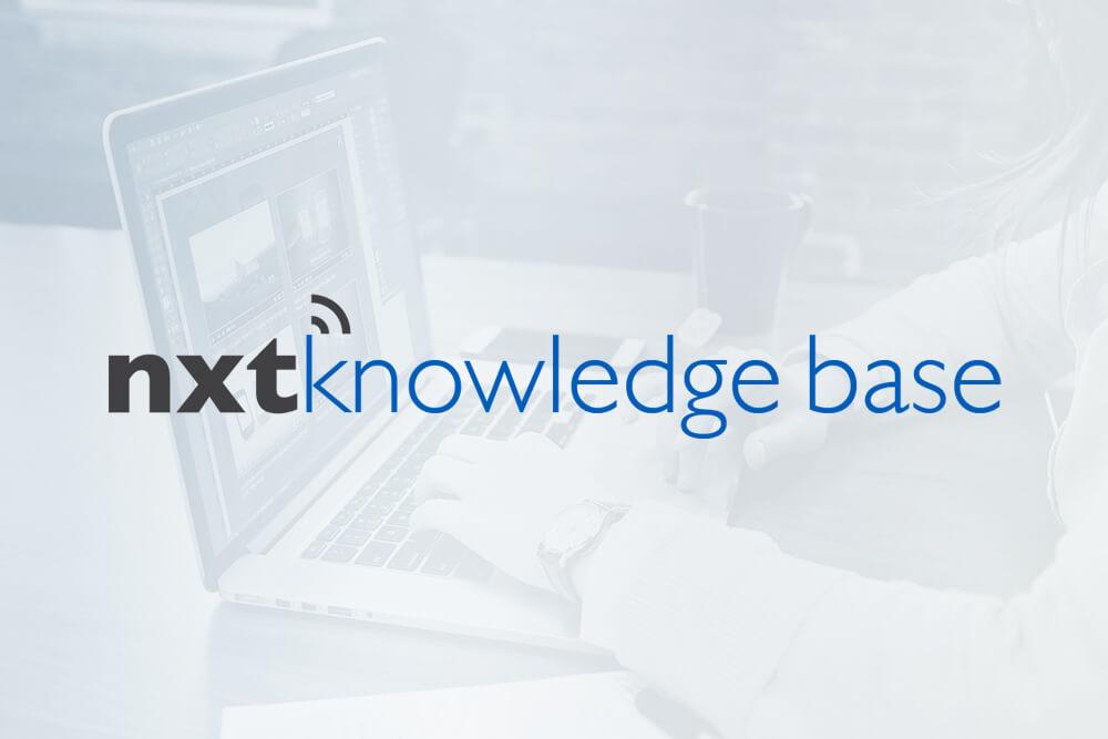 The Nxtbook Knowledge Base