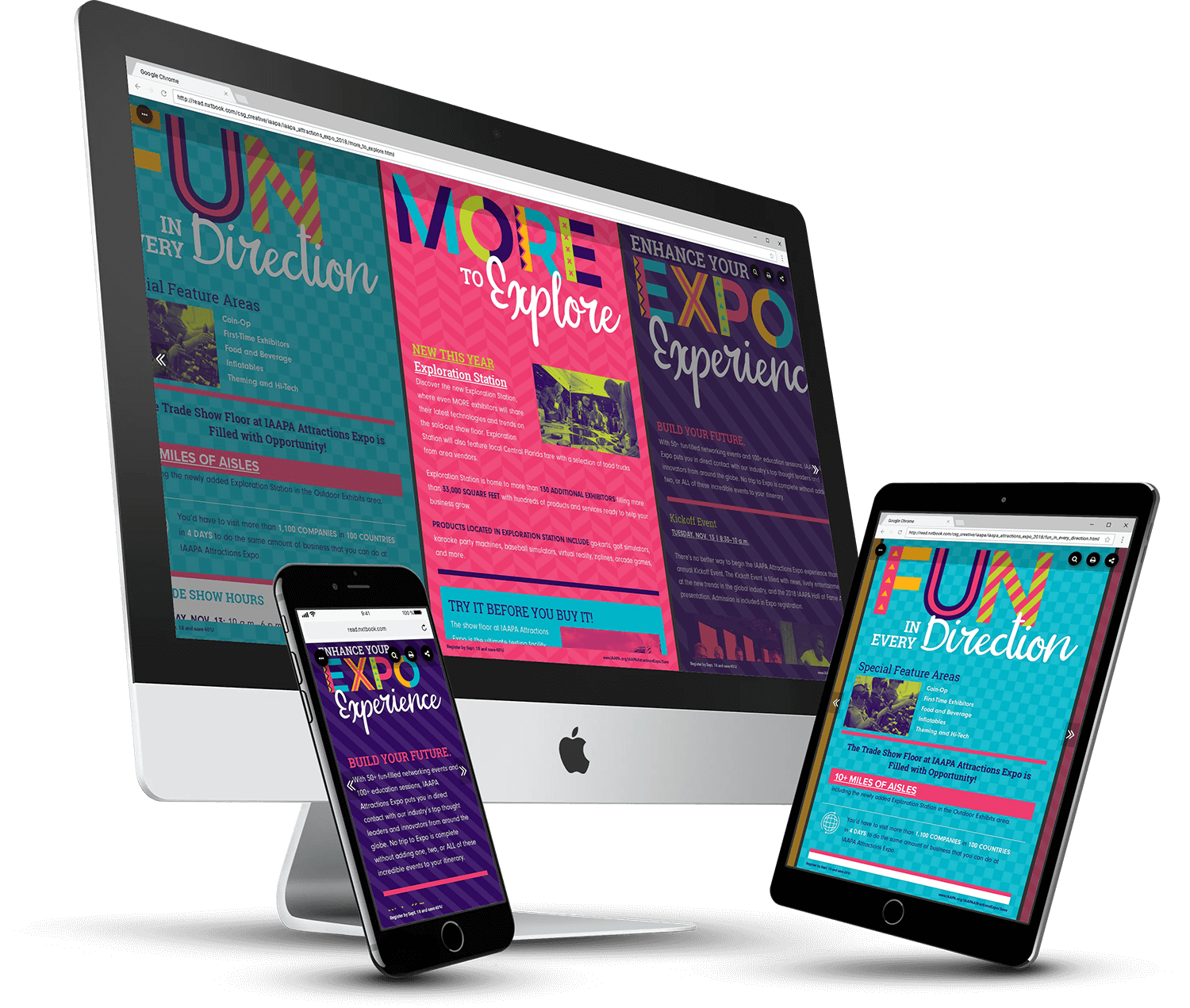 Prima Theater's Digital Brochure Created in PageRaft