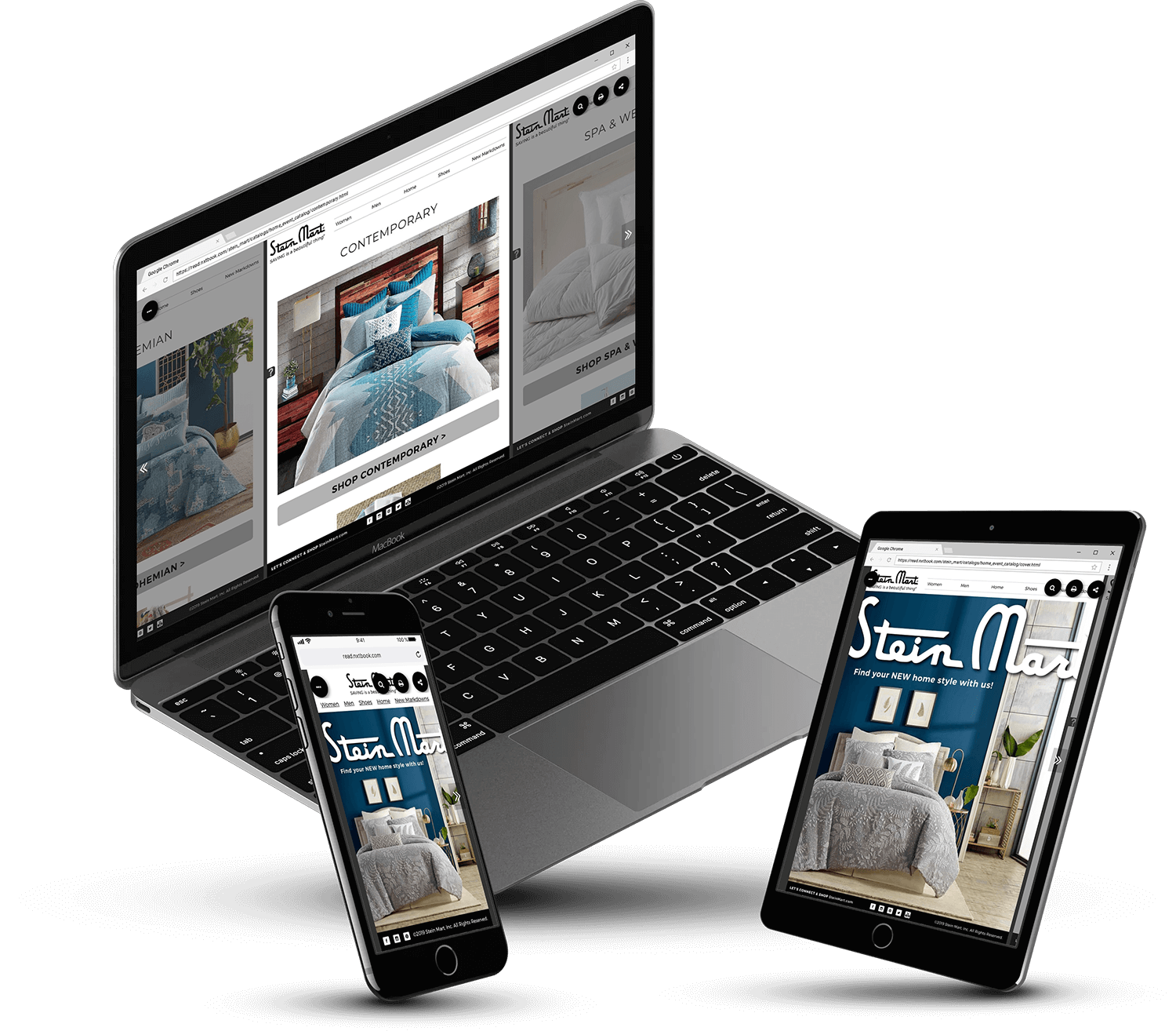 Stein Mart Catalog Created in PageRaft