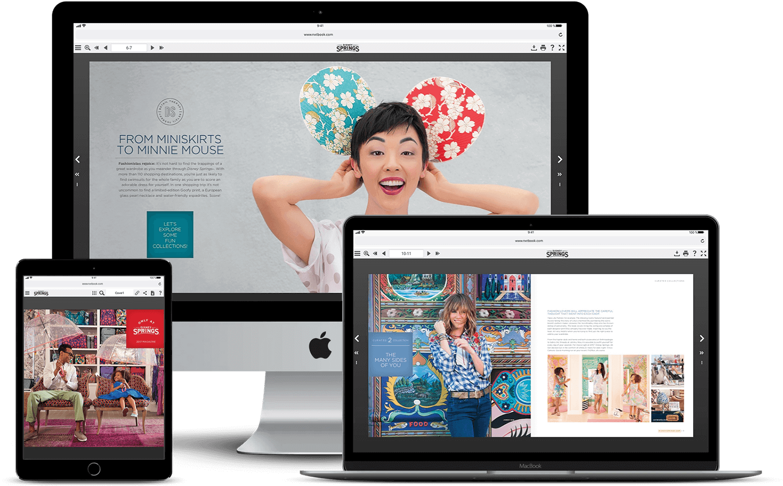 Digital Travel Magazine built in PageRaft
