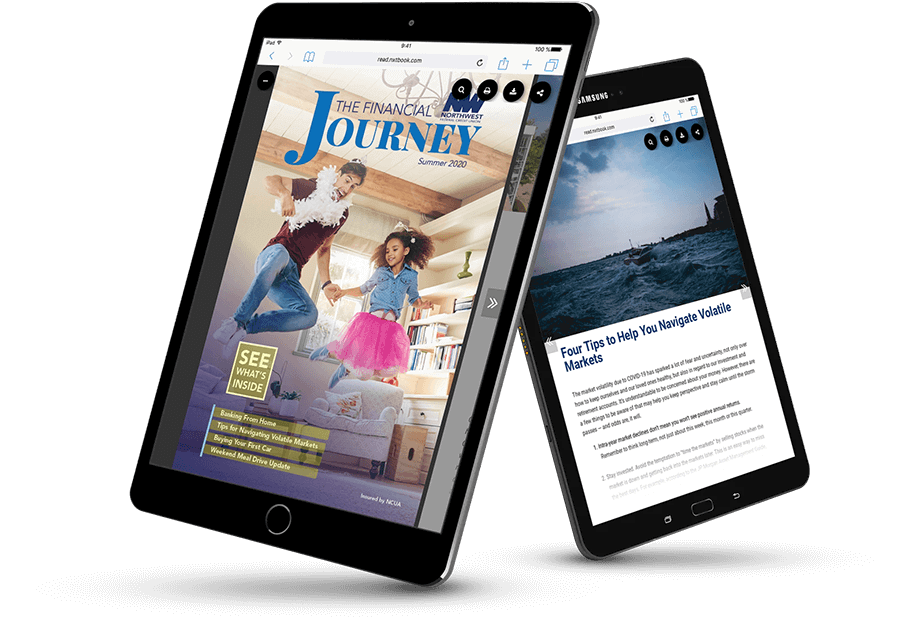 A digital financial magazine created in PageRaft