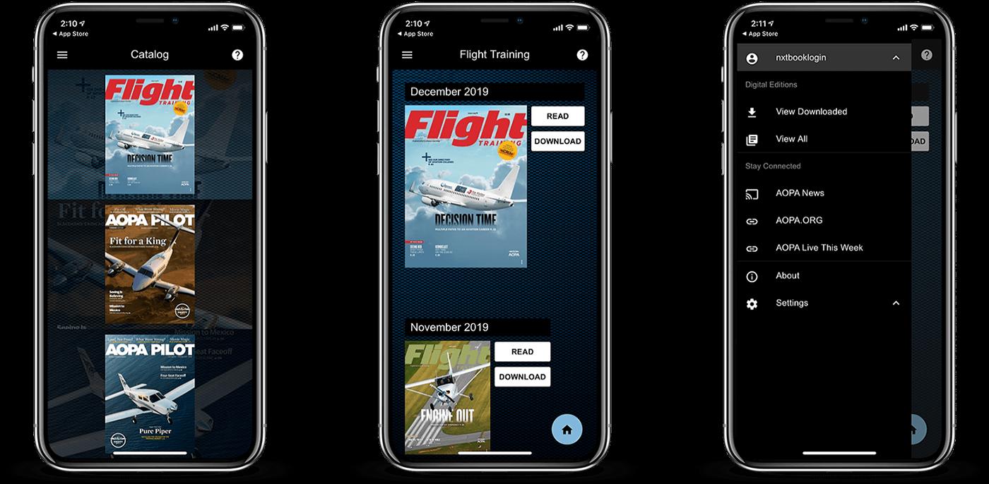 Nxtbook apps on iPhones
