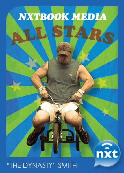Trike rider all star playing card