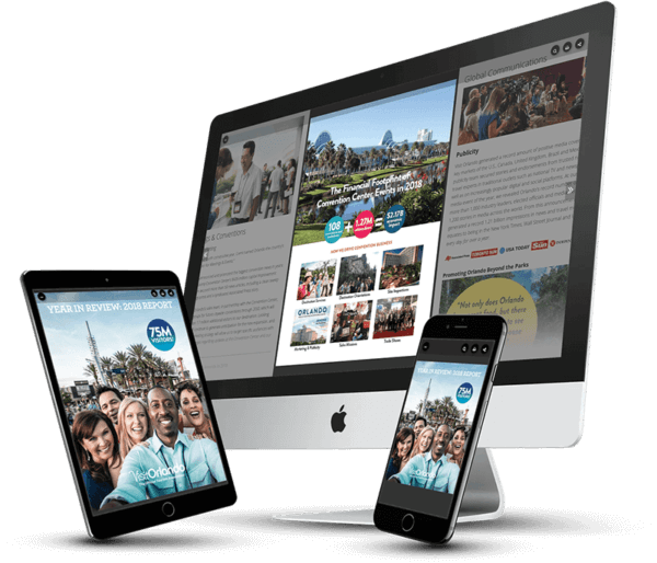 Visit Orlando Digital Report