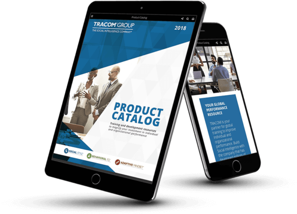 Product Catalog designed in PageRaft and displayed on an iPad and iPhone